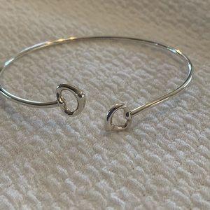 Tiffany & Co Sterling Silver Bypass Bracelet